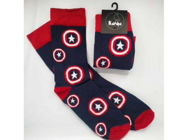 Captain America - Unisex Çorap