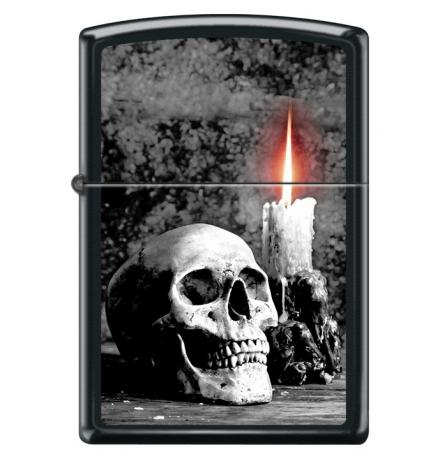 Classic SKULL W/CANDLE