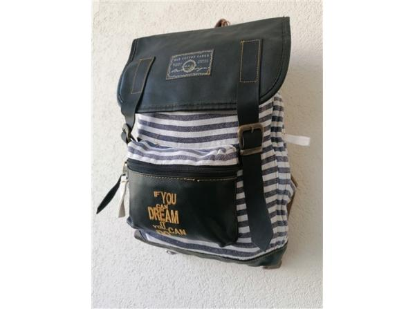 OLD COTTON CARGO 5048 NEW MALLACCA BAG SIRT IF YOU GRİ