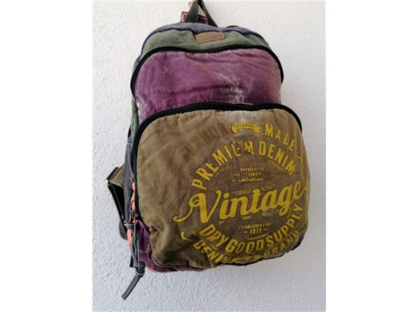 5017 NEW MİSSİSİPPİ BAG SIRT VINTAGE Ğ
