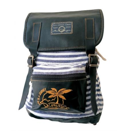OLD COTTON CARGO 5048 NEW MALLACCA BAG SIRT SUMMER GRİ