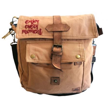 Old Cotton Cargo 7170 Branco Omuz Tablet Evrak Postacı Laptop Notebook Çantası Taba bordo