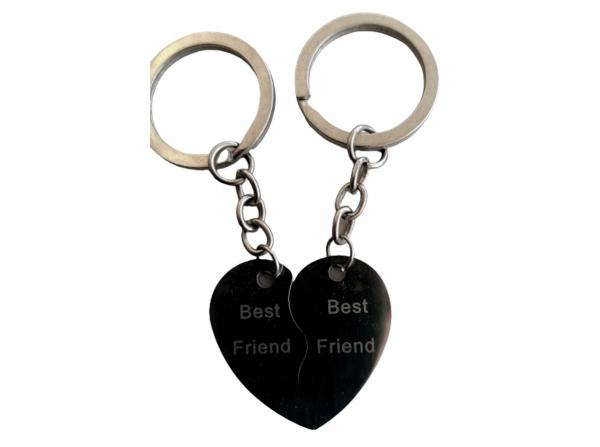 BEST FRIEND ÇİFTLİ METAL ANAHTARLIK