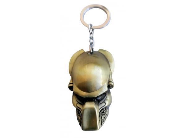 aliens vs predator bronz metal anahtarlık