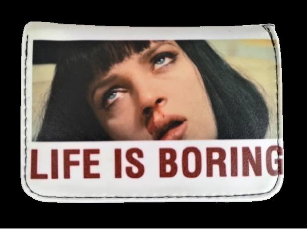 LIFE IS BORING CÜZDAN